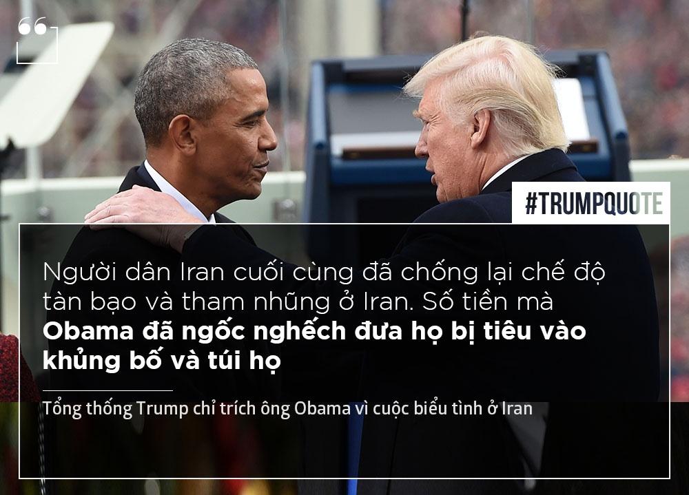Trump chi trich Obama anh 2