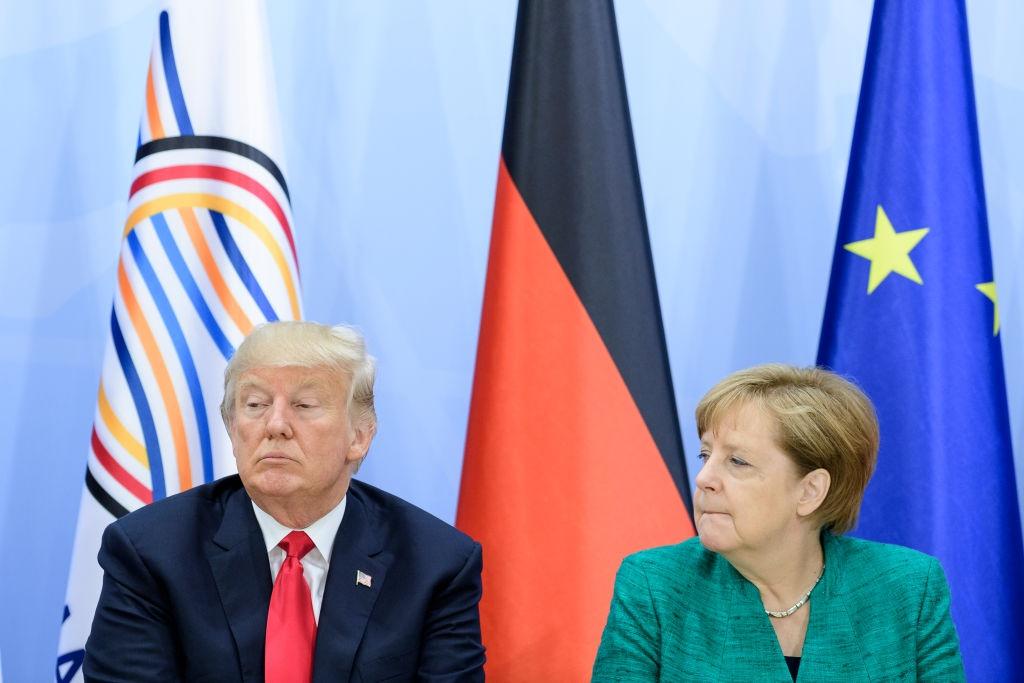 Merkel 'tai khoi dong' quan he voi Trump sau 5 thang khong noi chuyen hinh anh 1
