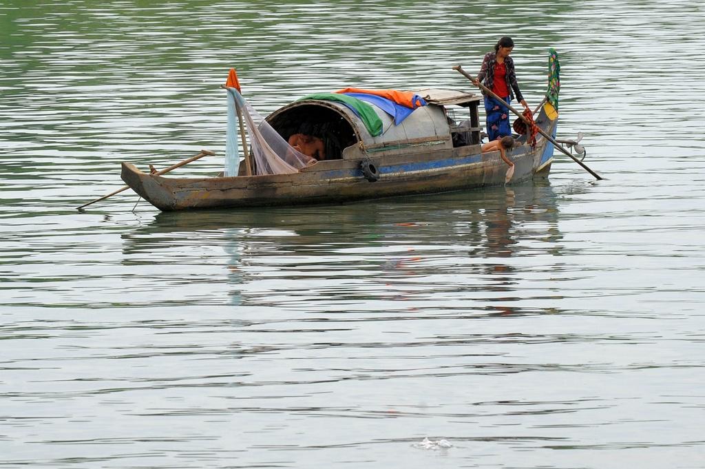 dap thuy dien Mekong anh 1