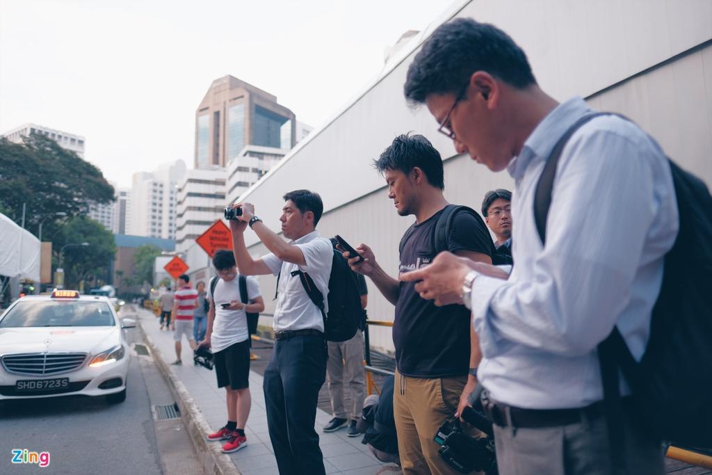 Kim Jong Un den Singapore anh 4