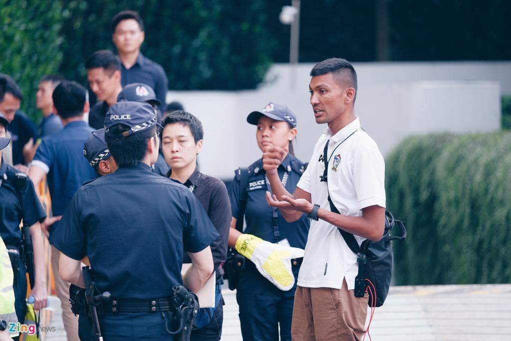 Kim Jong Un den Singapore anh 8