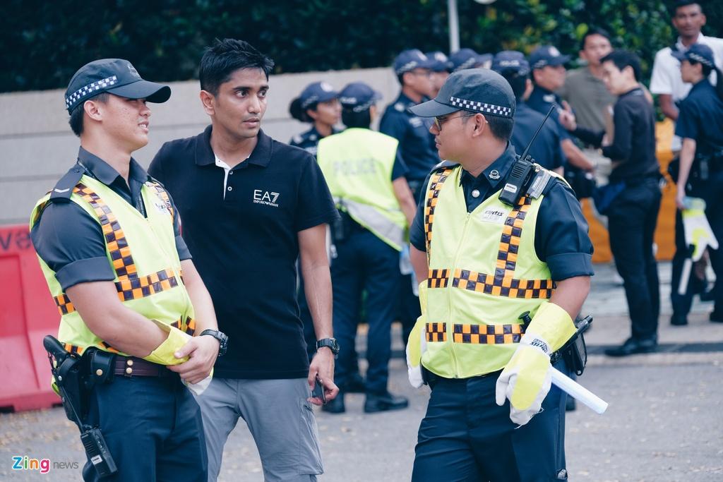Kim Jong Un den Singapore anh 12