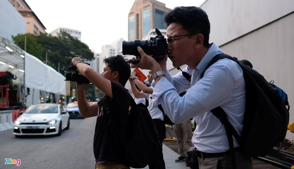 Kim Jong Un den Singapore anh 5