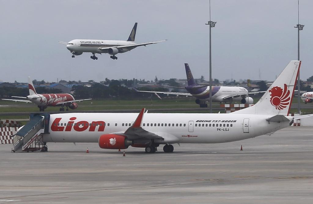 may bay Lion Air roi anh 1