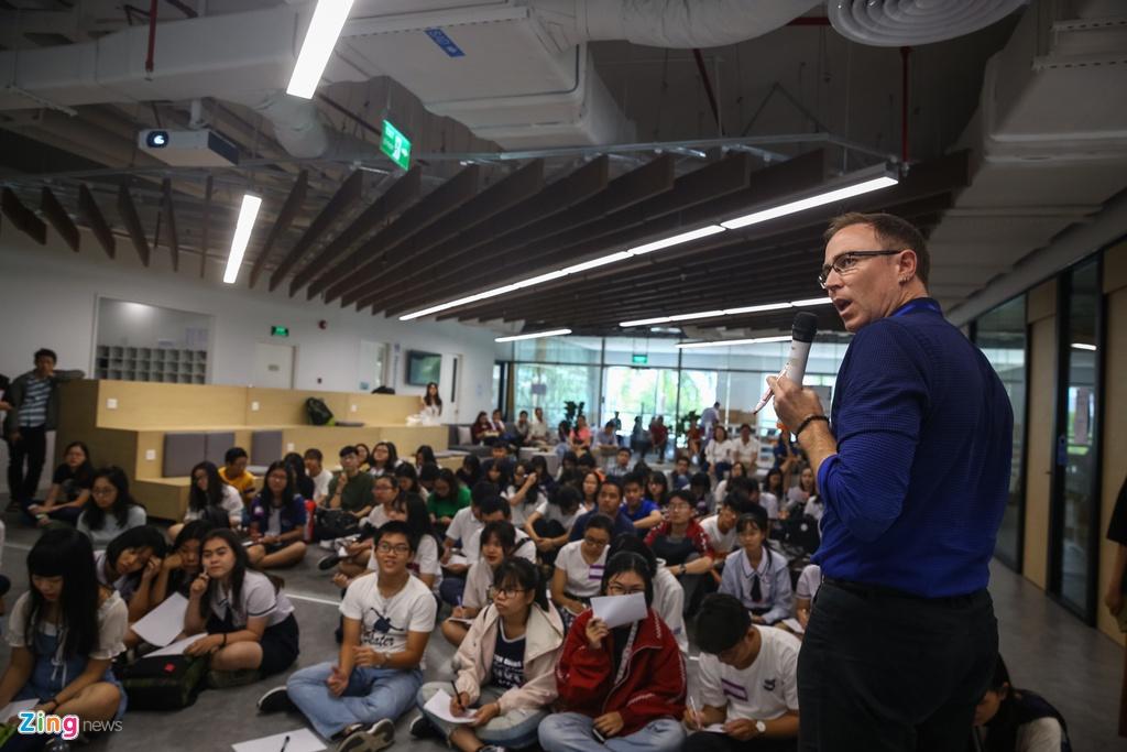 Chu tich Dai hoc Fulbright VN: FUV giong nhu mot start-up giao duc hinh anh 2