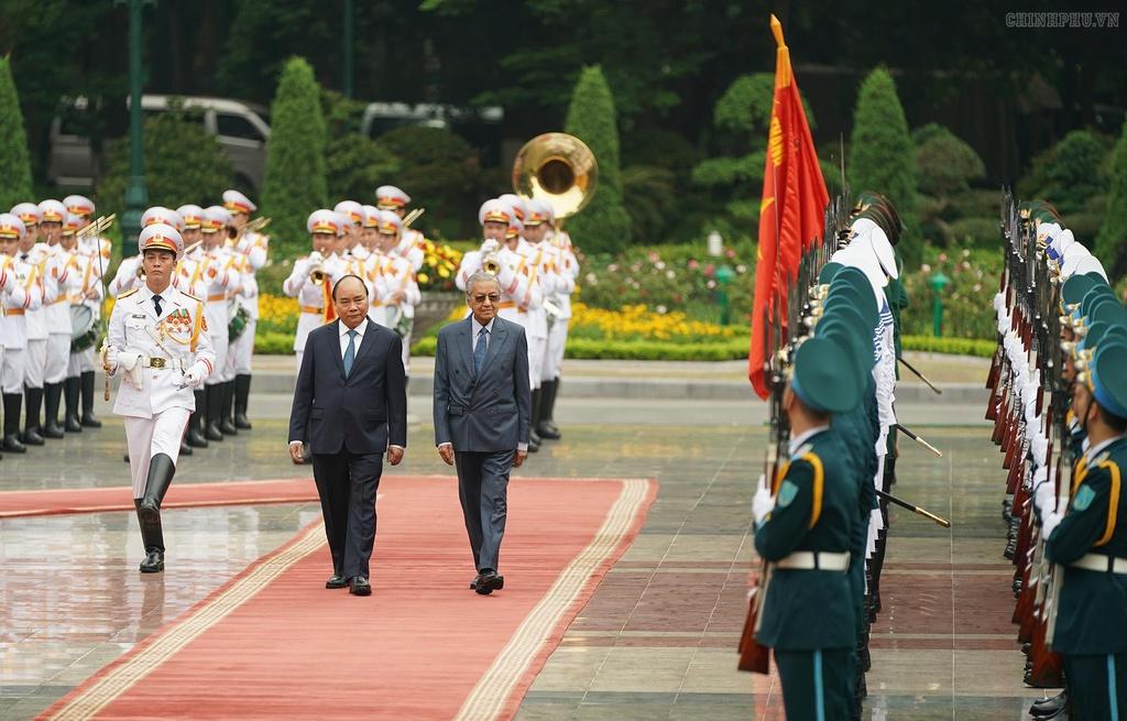 thu tuong Malaysia tham Viet Nam anh 1