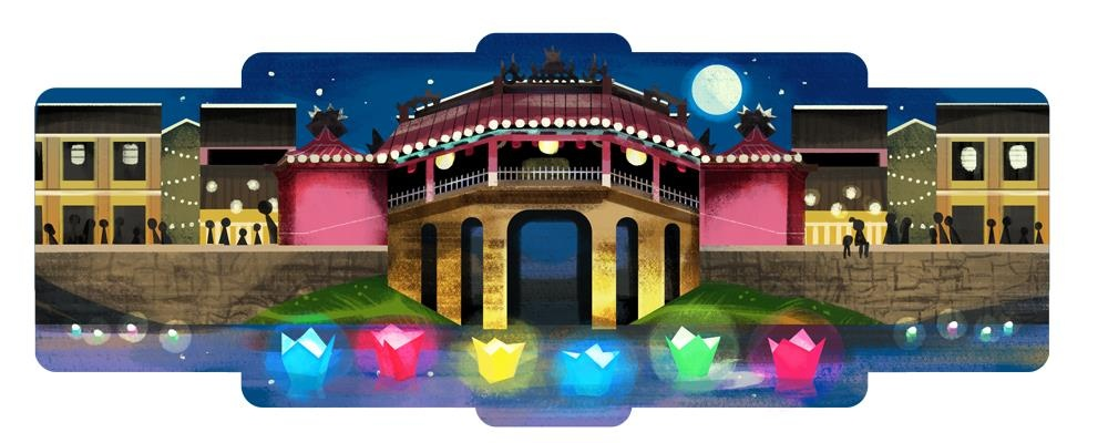 Chua Cau va cac bieu tuong van hoa Viet Nam tung duoc Google vinh danh hinh anh 1