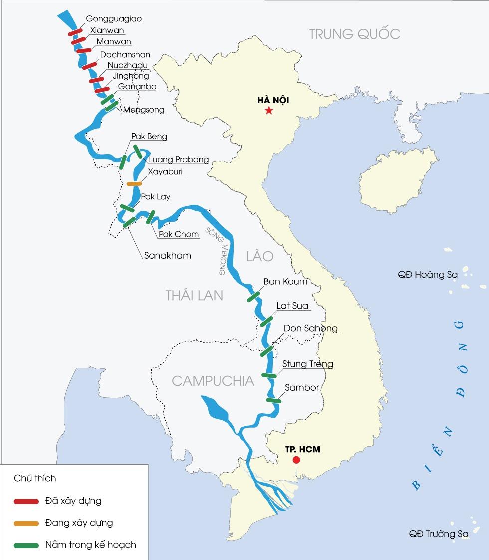 Dap thuy dien dang giet dong Mekong hinh anh 1