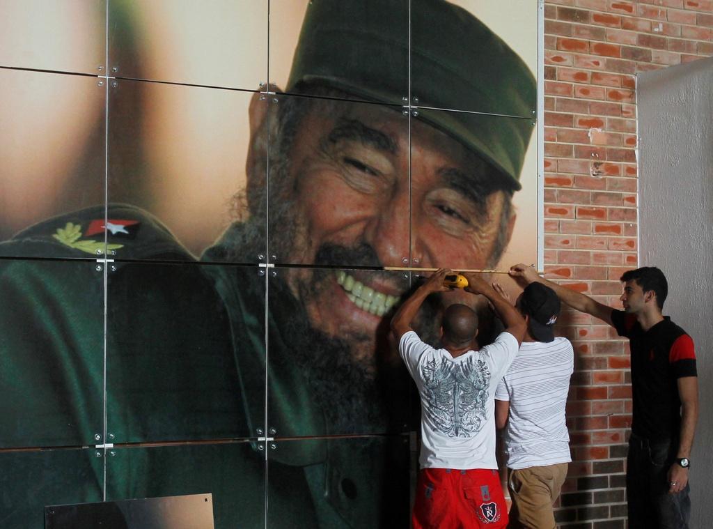 Dan Cuba mung sinh nhat thu 90 cua ong Fidel Castro hinh anh 2