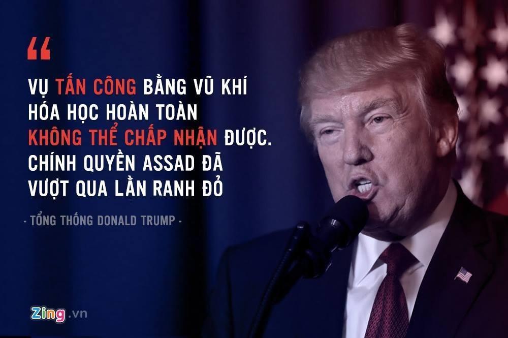 24 gio tu tuyen bo den doi ten lua vao Syria cua Trump hinh anh 1