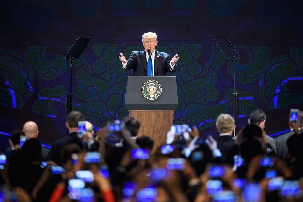 Trump tham Viet Nam anh 5