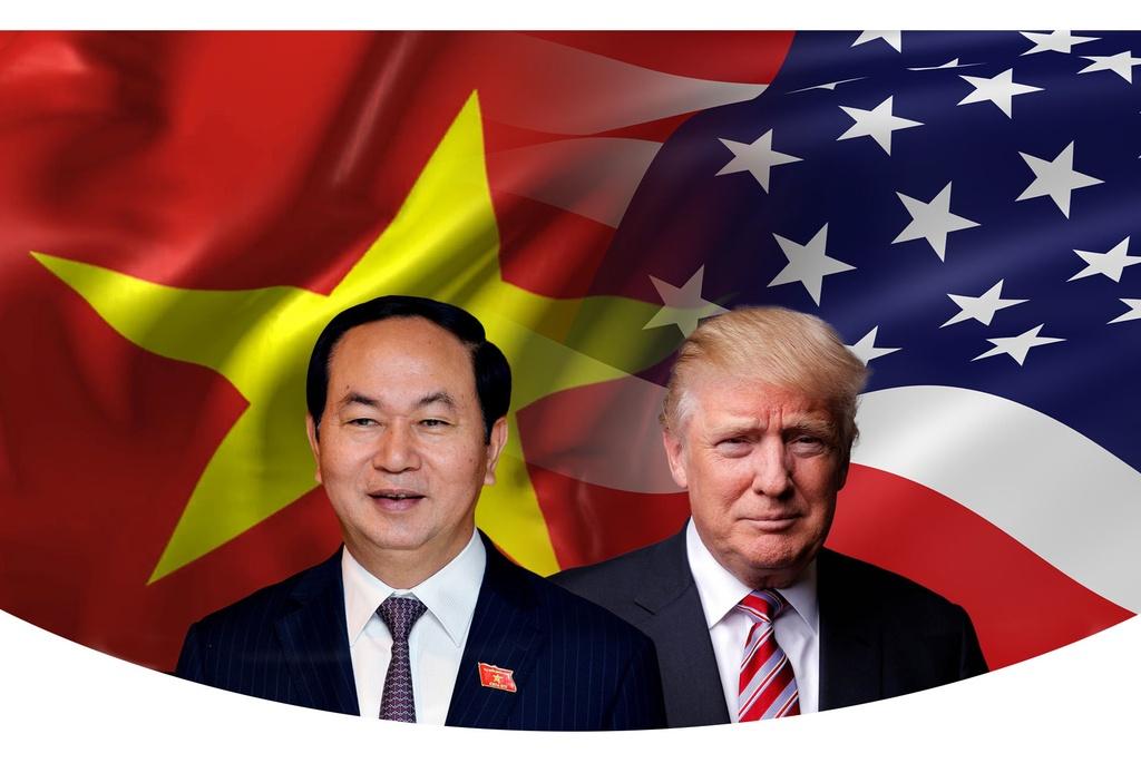 Trump tham Viet Nam anh 1
