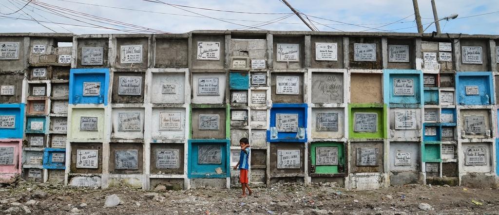 Cuoc song tai khu o chuot o cac nghia trang Philippines hinh anh 10
