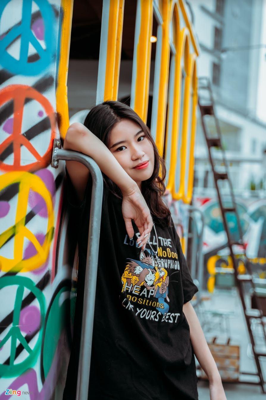 Nu sinh 10X sang tac 'Hai phut hon' co ban trai la rapper hinh anh 4 phao3_zing.JPG