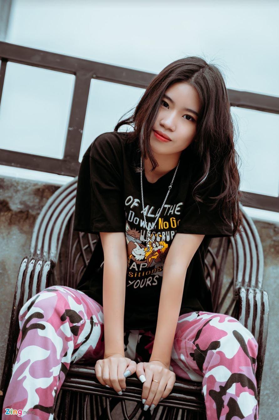Nu sinh 10X sang tac 'Hai phut hon' co ban trai la rapper hinh anh 5 phao_4_zing.JPG