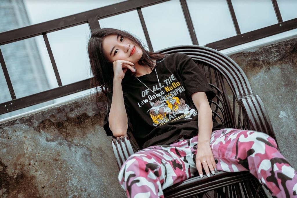 Nu sinh 10X sang tac 'Hai phut hon' co ban trai la rapper hinh anh 9 phao_8.JPG