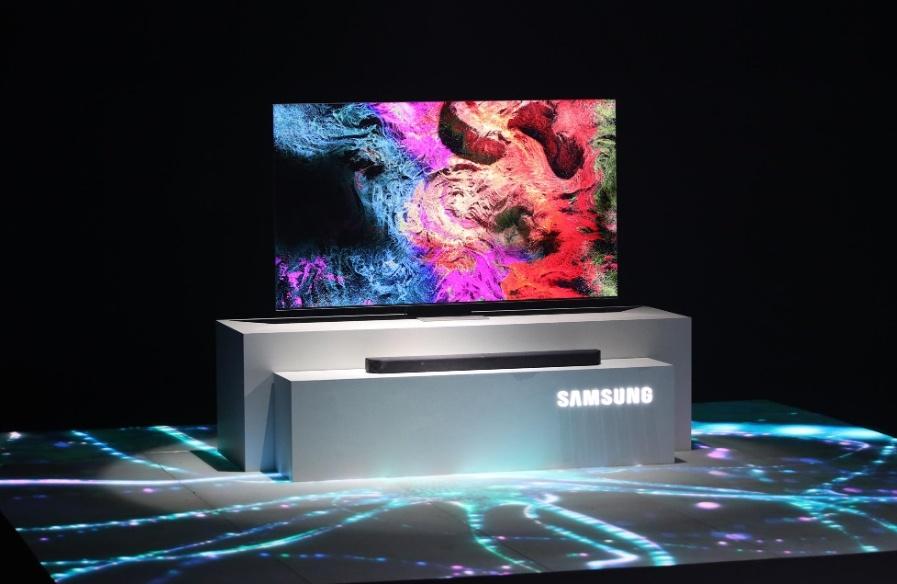 Samsung,  LG thong tri thi truong tivi toan cau anh 1