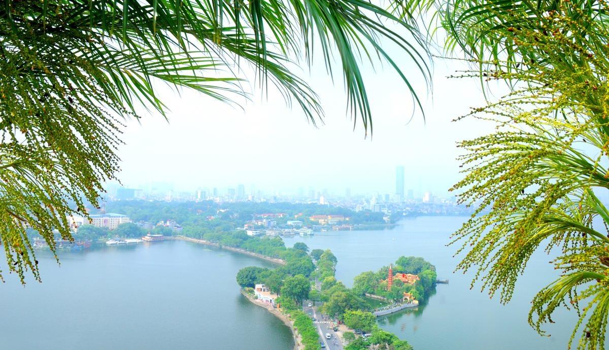 Ho Tay tho mong trong long Ha Noi hinh anh 1