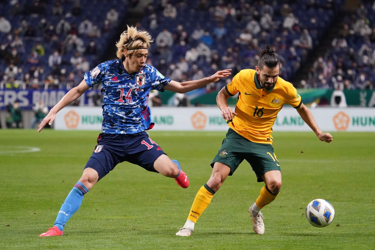 Nhat Ban vs Australia anh 1
