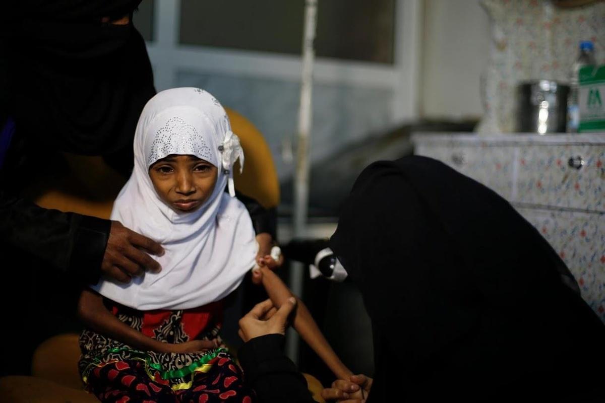Chùm ảnh: Nạn đói đe dọa sự sống tại Yemen sau 4 năm nội chiến