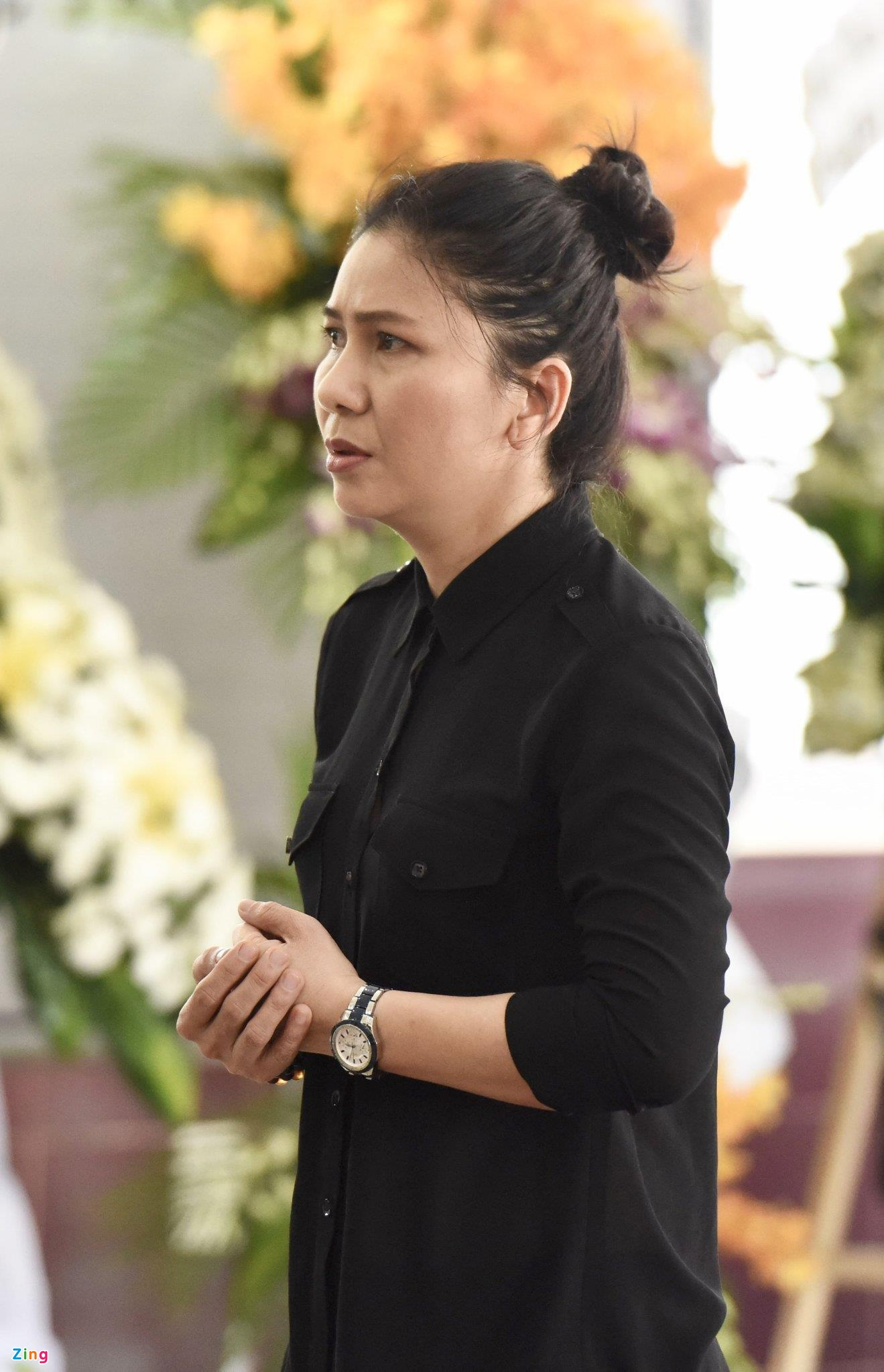 NSUT Thanh Loc, Minh Hang va dong nghiep nghen ngao vieng NS Le Binh hinh anh 3