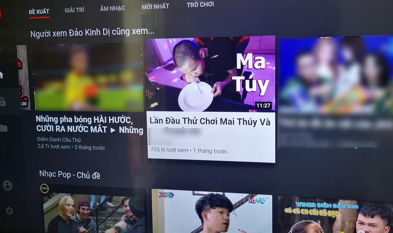 """Video """"lần đầu thử chơi ma túy"""" của một kênh hướng tới trẻ em đạt 700.000 lượt xem."""