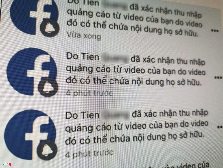 Nhan vo ban quyen video kiem tien ty tren Facebook tai VN hinh anh 1