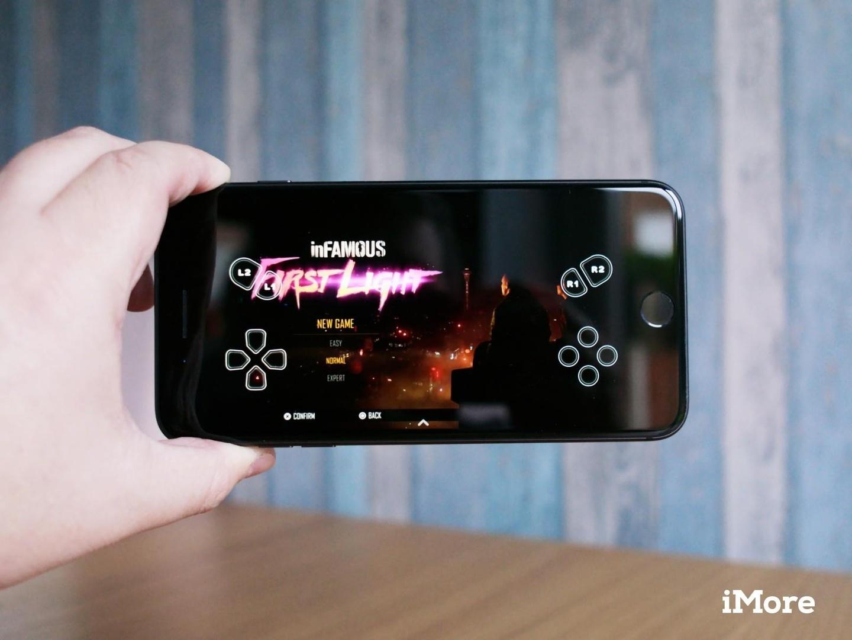 Đến gần đây Sony mới hỗ trợ chơi game hệ PlayStation trên iOS, nhưng người dùng vẫn phải có PS4. Ảnh: iMore.