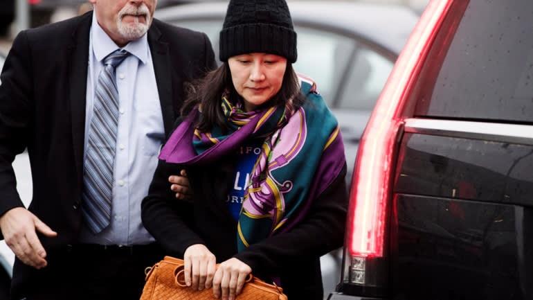 Bà Mạnh Vãn Châu đang được tại ngoại ở Vancouver, Canada. Ảnh: AP.