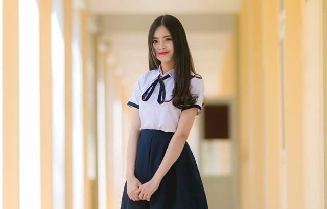 Ve dep cua 10 co gai Hue vao ban ket Hoa khoi Sinh vien Viet Nam 2018 hinh anh 8