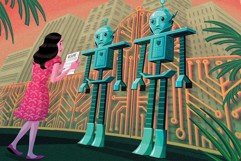 Robot doc don xin viec va noi toi nen that nghiep thi hon hinh anh 2