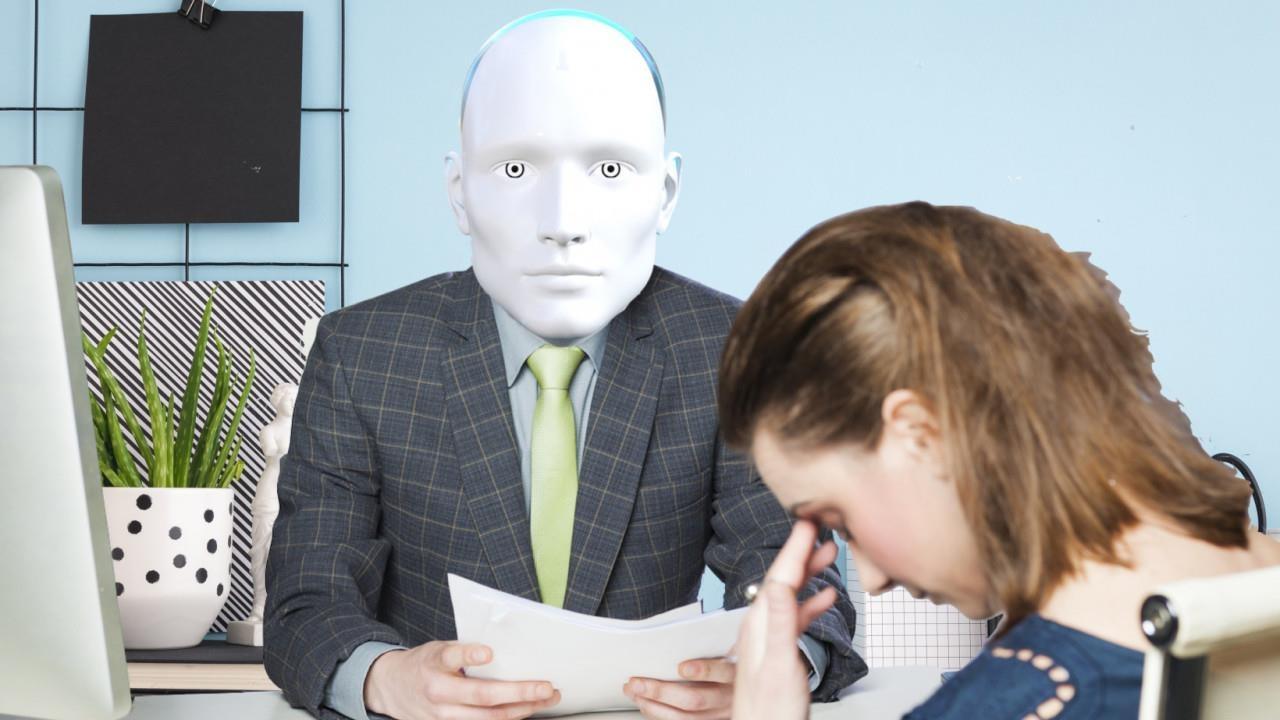 Robot doc don xin viec va noi toi nen that nghiep thi hon hinh anh 1