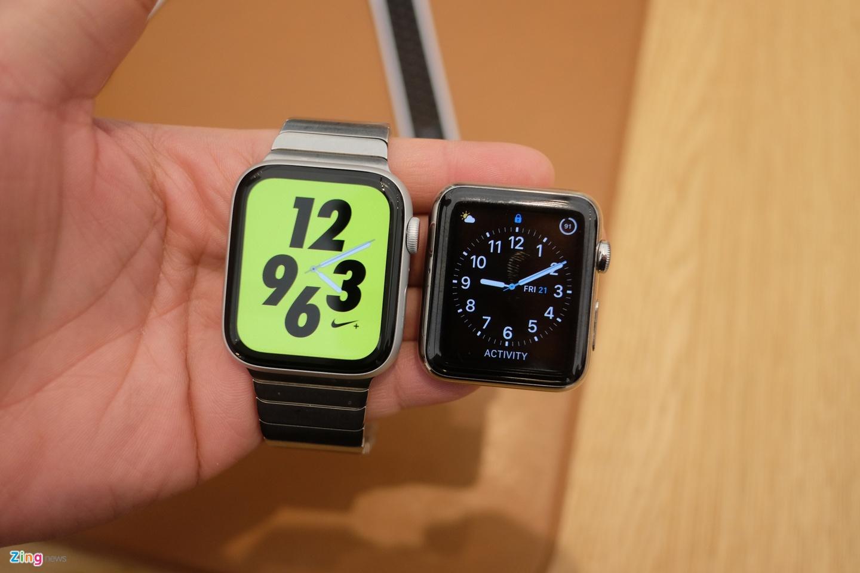 Chi tiet Apple Watch Series 4 - man hinh lon, vien cuc mong hinh anh 1