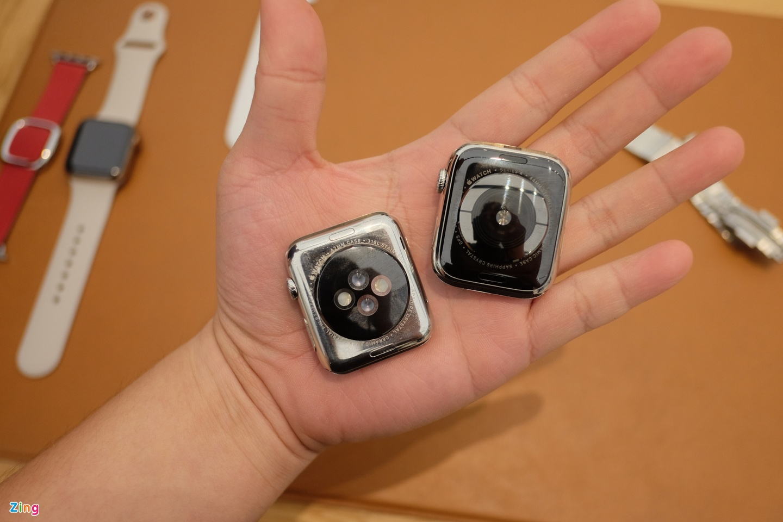 Chi tiet Apple Watch Series 4 - man hinh lon, vien cuc mong hinh anh 8