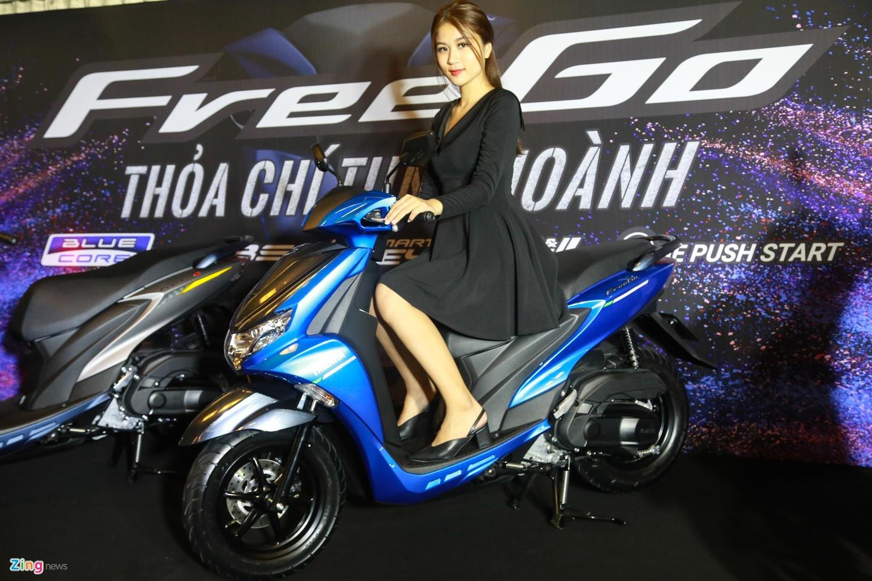 Yamaha FreeGo 125 ra mat VN, doi thu Honda Air Blade, gia tu 33 trieu hinh anh 9