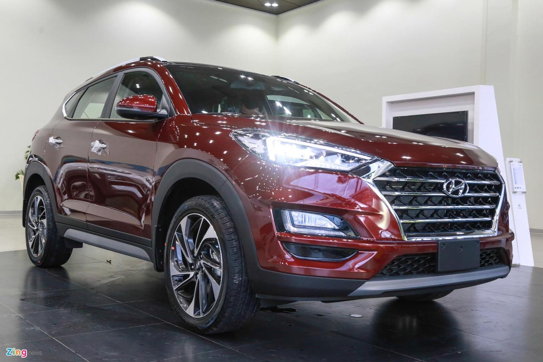 Can canh Hyundai Tucson 2019 - thay ngoai hinh, tang gia ban hinh anh 2