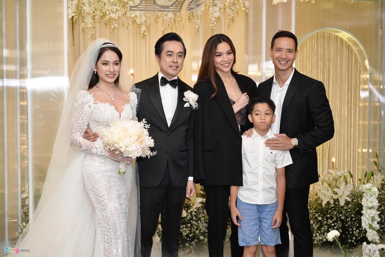 Tran Thanh cung dan sao du tiec cuoi cua Duong Khac Linh va Sara Luu hinh anh 15