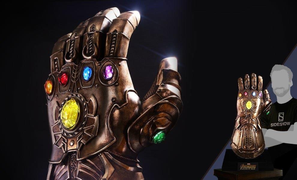 Găng tay vũ trụ với 6 viên đá không phải thứ duy nhất gắn kết Vũ trụ Điện ảnh Marvel. Ảnh: DHgate.