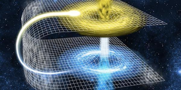 """Minh hoạ các hoạt động của cầu Einstein-Rosen, hay """"hố sâu vũ trụ"""". Ảnh: Filminquiry."""