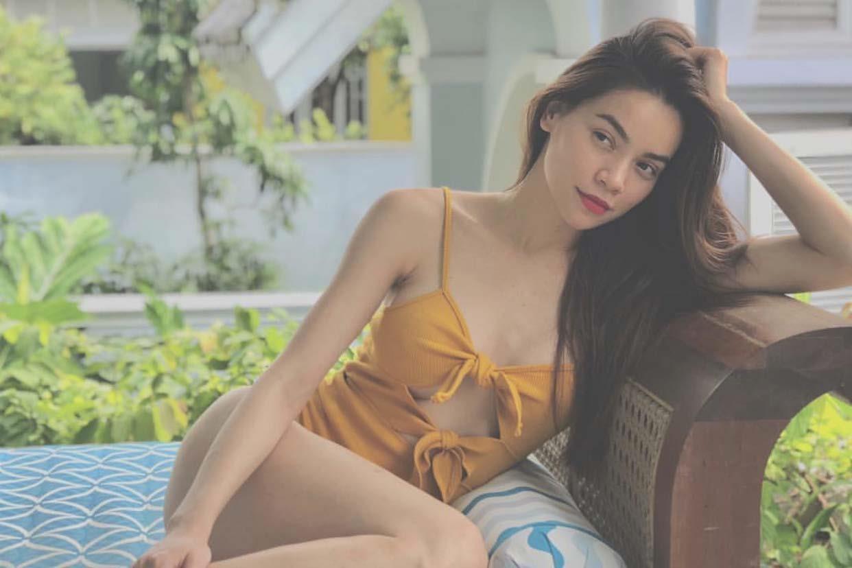 Ho Ngoc Ha va bo suu tap bikini giup ton len vong mot cang day hinh anh 15