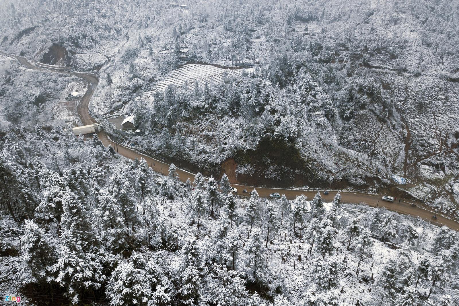 Vẻ đẹp của Sapa vào mùa tuyết