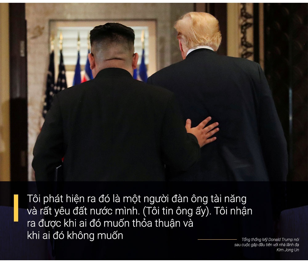 Donald Trump va Kim Jong Un: Moi quan he ky la cua nhung ca tinh manh hinh anh 10