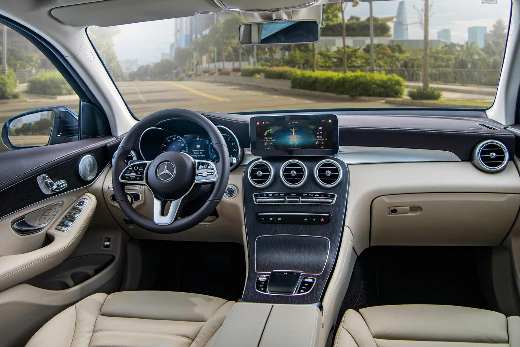 Audi Q5 2021 canh tranh Mercedes GLC anh 8