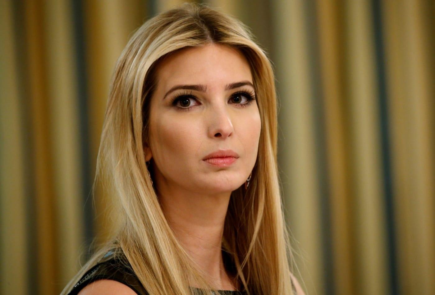 Ivanka Trump khong duoc chao don anh 1
