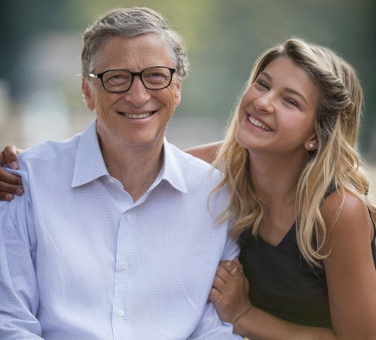 ty phu Bill Gates day con anh 5