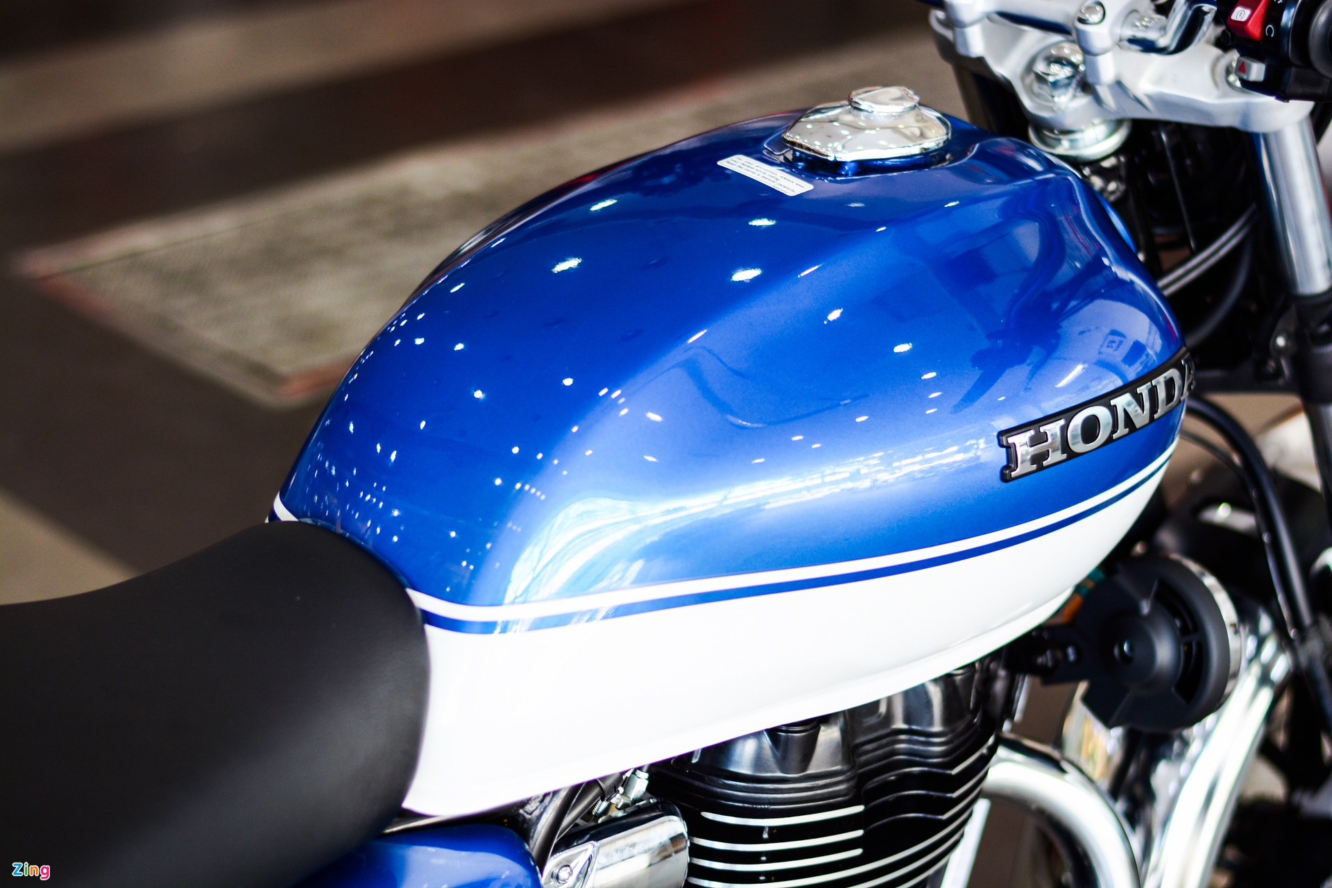 Honda H'ness CB350 DLX Pro xuat hien tai Viet Nam anh 8