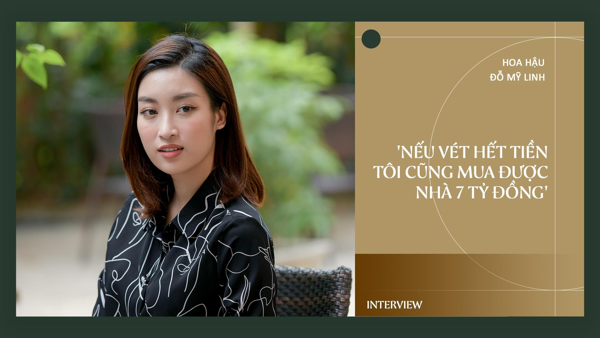 Hoa hau Do My Linh: 'Neu vet het tien toi cung mua duoc nha 7 ty dong' hinh anh 2