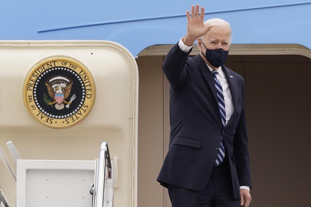 ong Biden cong du nuoc ngoai anh 2