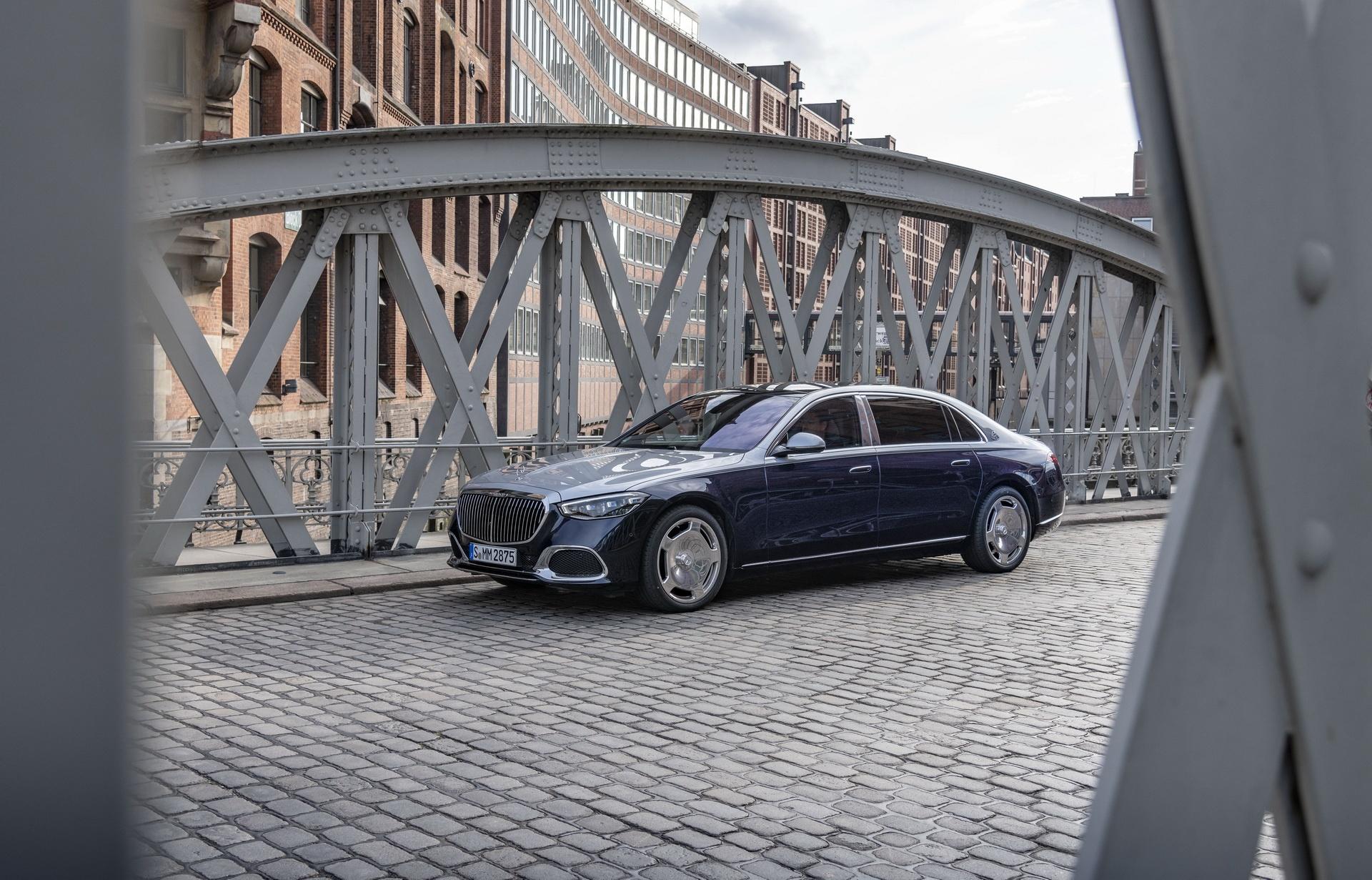 Mercedes-Maybach S-Class 2021 se em nhu Rolls-Royce? anh 2