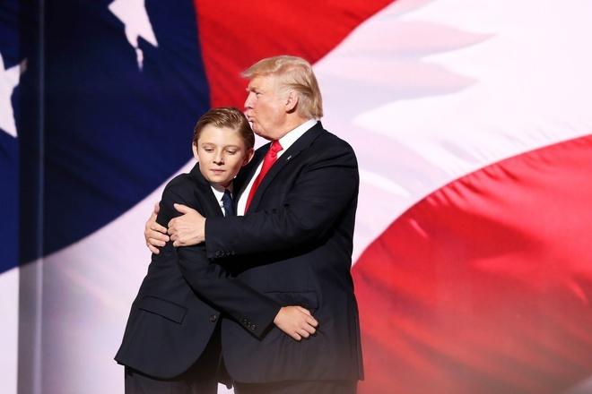 con so y nghia cua Barron Trump anh 3